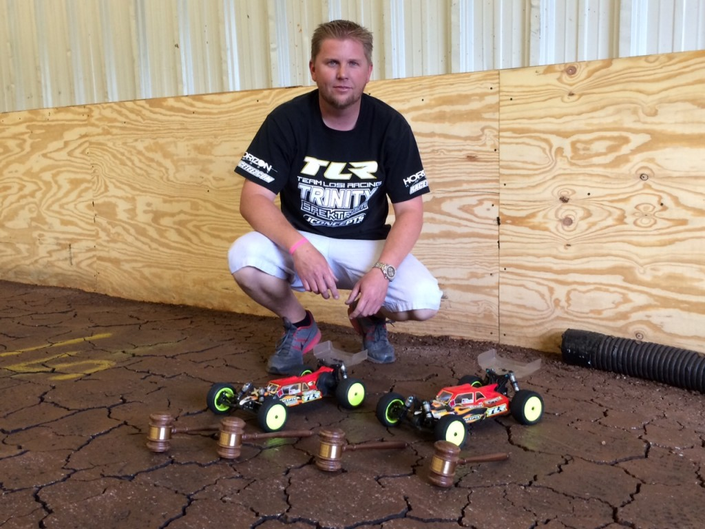 JR Mitch chooses the Tekin RSX in both his 22-4 and 22 2.0 Buggy.