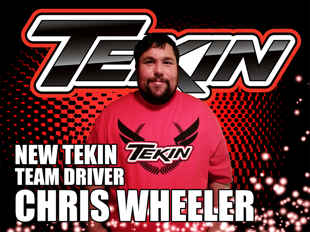 Tekin driver ChrisWheeler2014