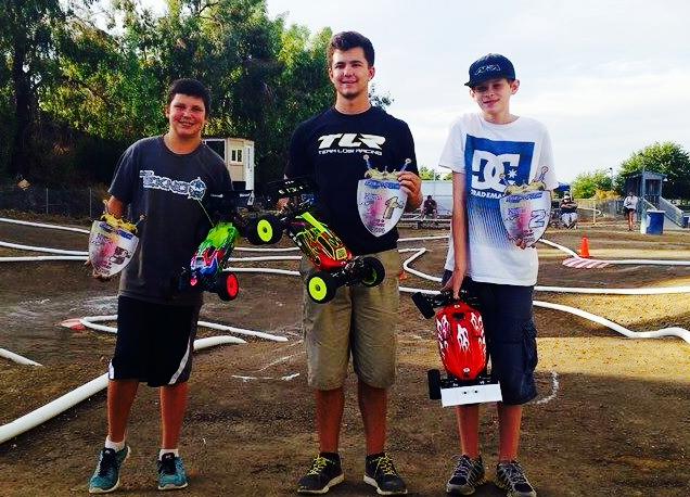 L to R: Mason Eppley, Jacob Haas, Kyle Turner