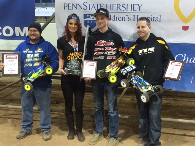 Top 3 in buggy are Griffin Hanna ,Anthony Mazzara and Jason Shreffler.