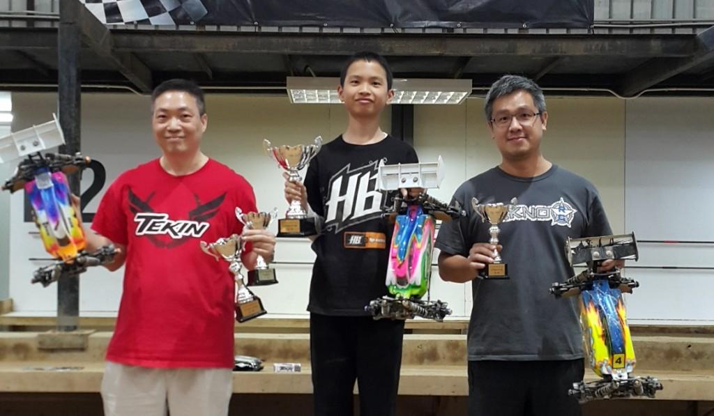 1-8 Open class podium