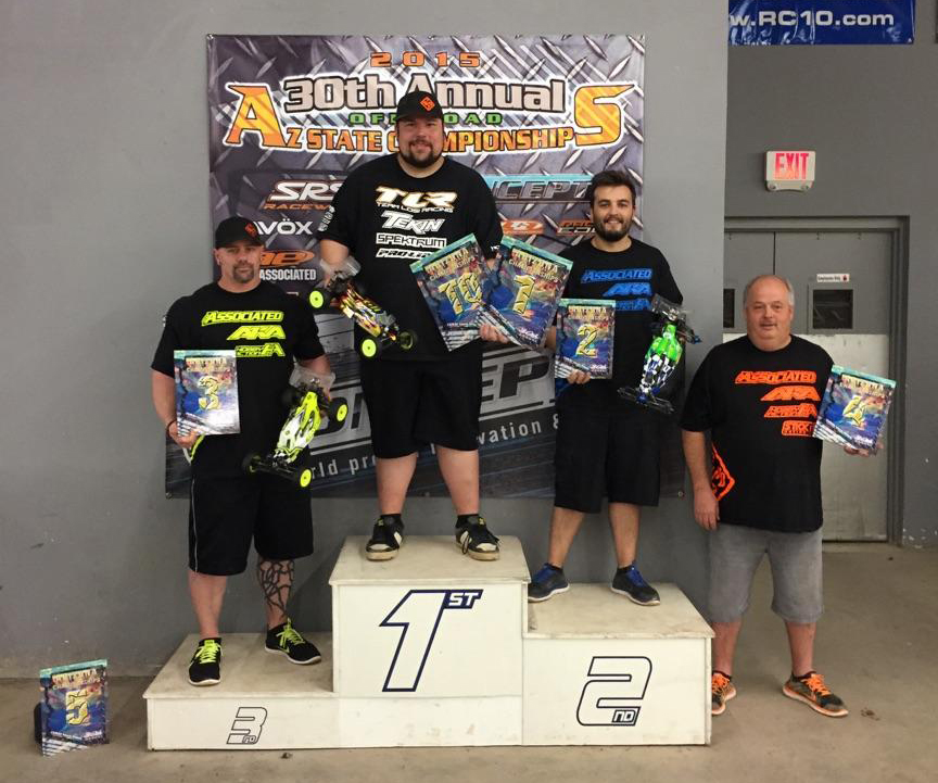 Az state champs2wd17.5buggy